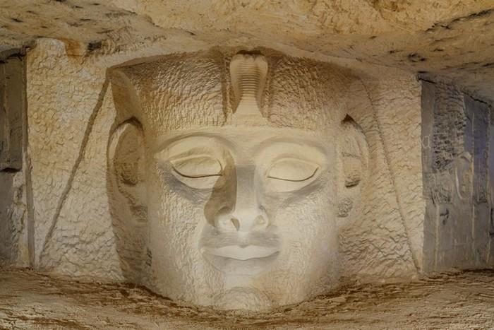 Пещеры Маастрихта: Рамзес II.