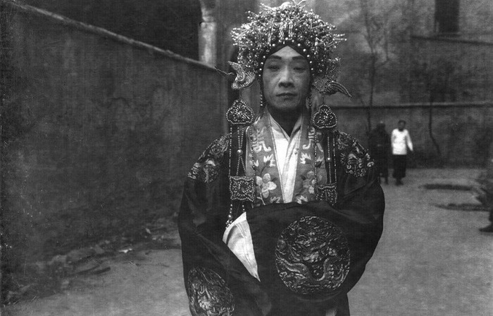 Актер китайской оперы в 1930-х годах.