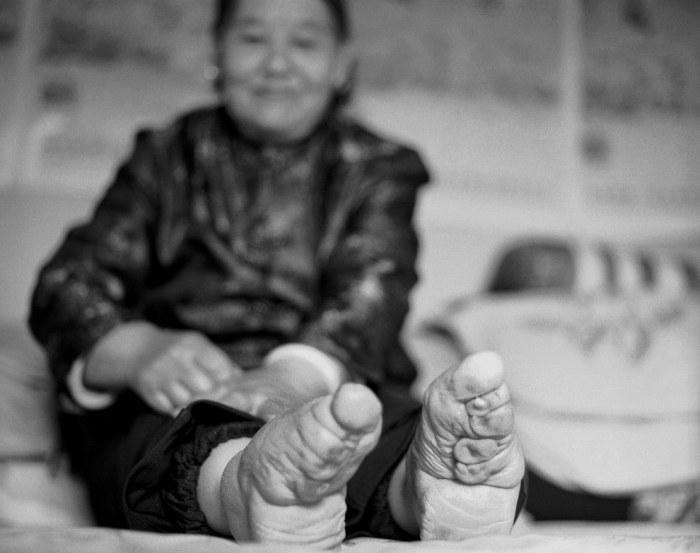 Лотосовая ножка - залог успешного замужества.
