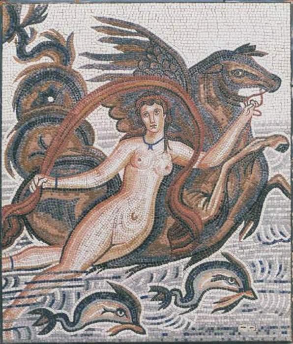 Амфитрита и Посейдон.