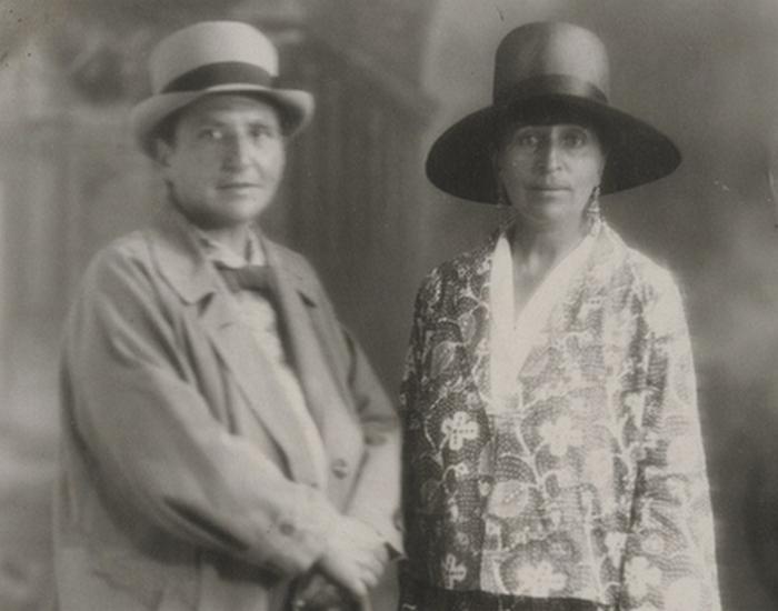 Гертруда Стайн  и Алиса Токлас. / Фото: e-reading.by