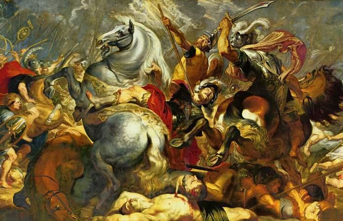 «Победа и смерть в битве консула Декия Муса», П. П. Рубенс./фото:drevniebogi.ru