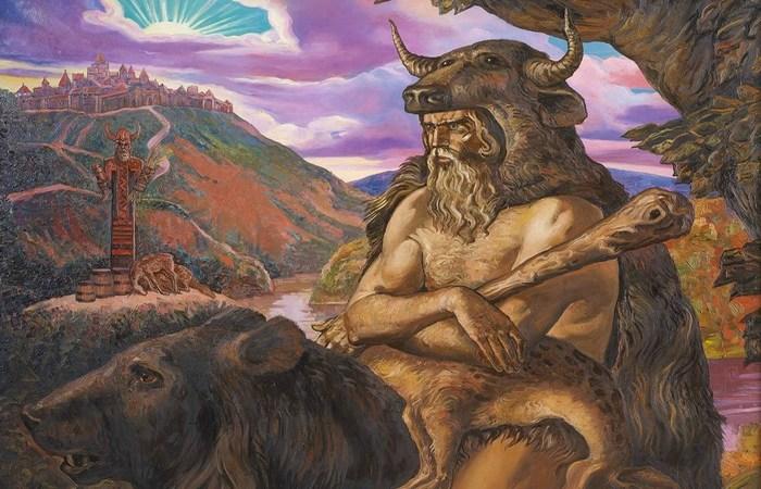 Велес - олицетворение всего зла и антагонист верховного бога. | Фото: uu411.weebly.com