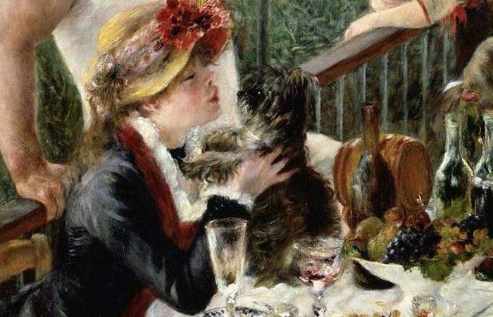 Ренуар неоднократно изображал жену на картинах.