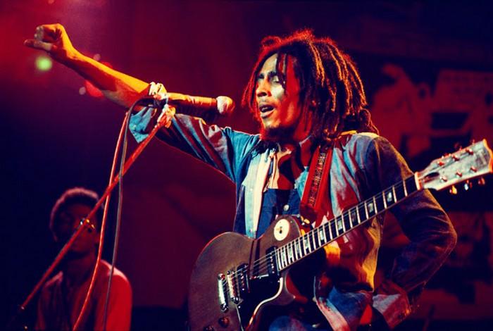 Фееричный концерт Боба Марли.