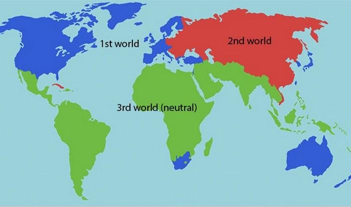 США, Западная Европа, Австралия - первый мир.  фото: list25.com