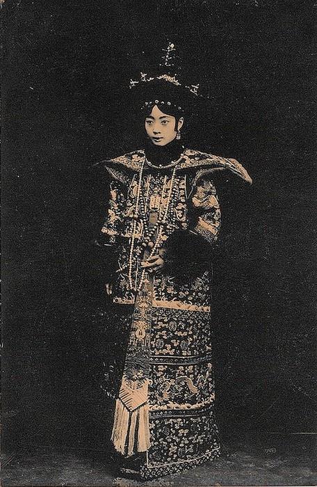 Императрица Цыси.