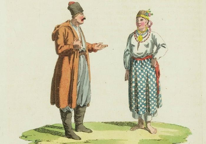 Первое этнографическое описание всей России: рисунки с «живых подлинников».