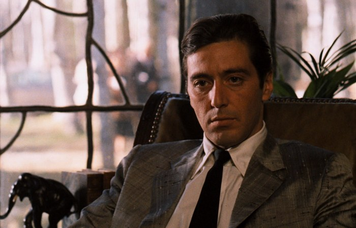 Аль Пачино в образе Майкла Корлеоне.