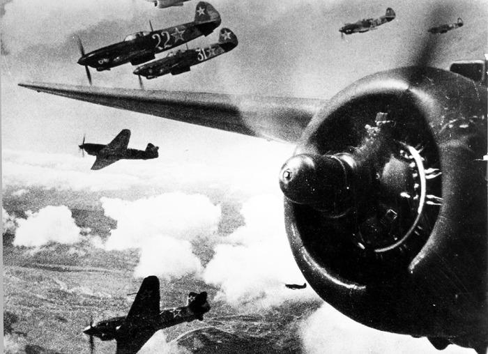 Воздушный бой времён Второй мировой