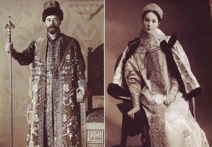 Последний костюмированный бал российской империи.