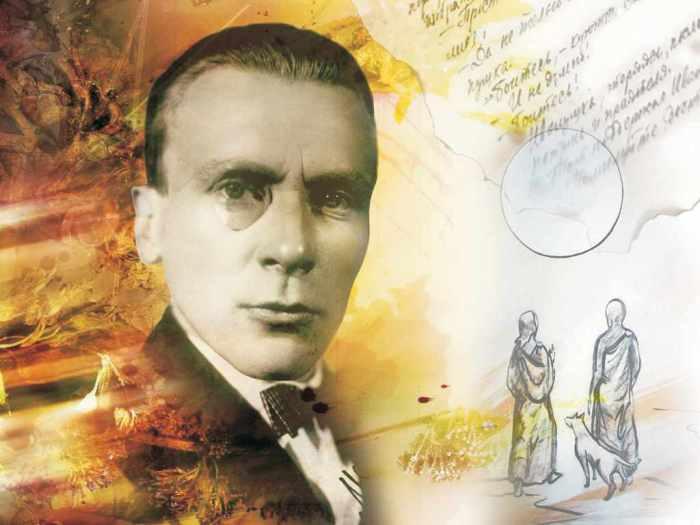 Михаил Булгаков и персонажи его романов.