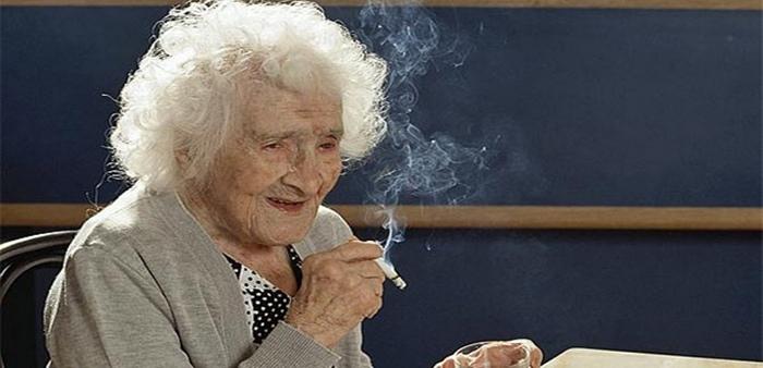122-летняя Жанна Кальман.