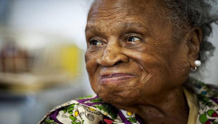 110-летняя Агнес Фентон.