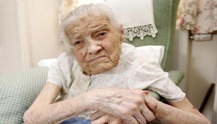 108-летняя Клара Мидмор.