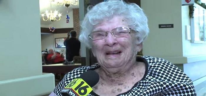 100-летняя Полин Спаньола.
