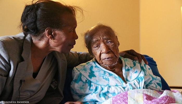 116-летняя Полин Спаньола.