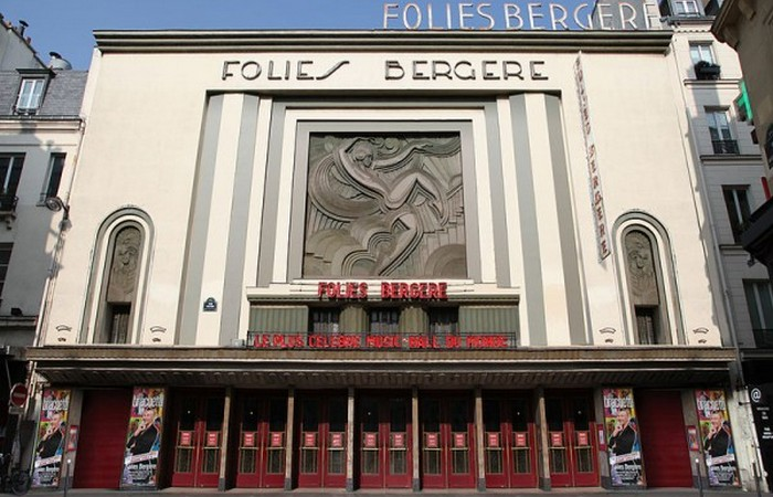 Картина была написана в популярном парижском заведении.