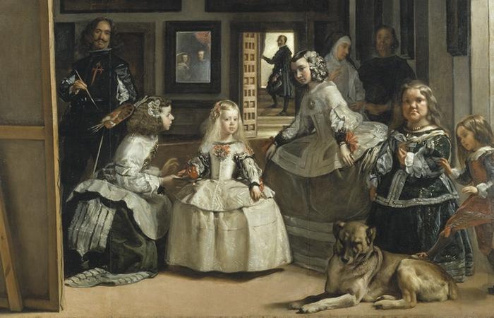 На картину оказало влияние полотно Менины.