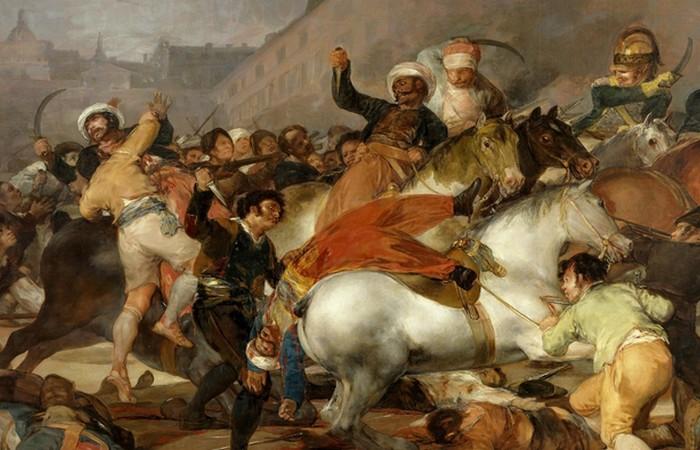 Восстание 2 мая 1808 года в Мадриде. фото: bse.sci-lib.com
