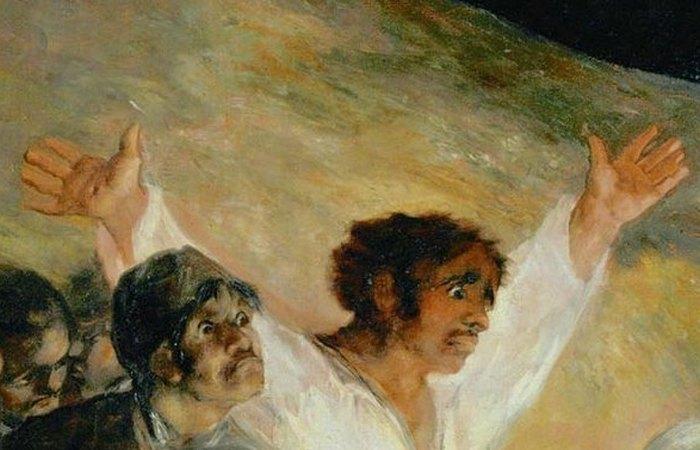 Рана на правой руке напоминает стигмат. фото: aria-art.ru