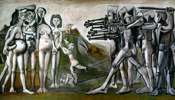 Резня в Корее. Пабло Пикассо. фото: picasso-picasso.ru