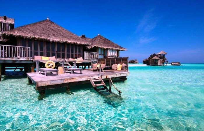 Гили Ланкафуши на Мальдивах - лучший отель 2015 года по версии TripAdvisor.