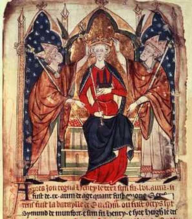 Коронация Генриха III.