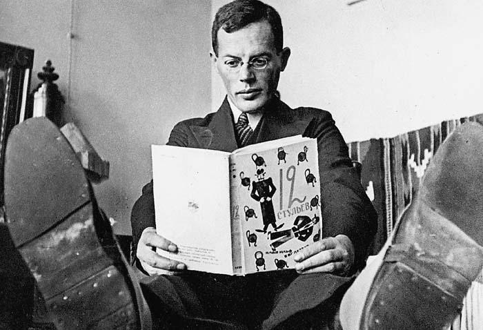 Илья Ильф. 1932 г. Фото Е. Лонгмана