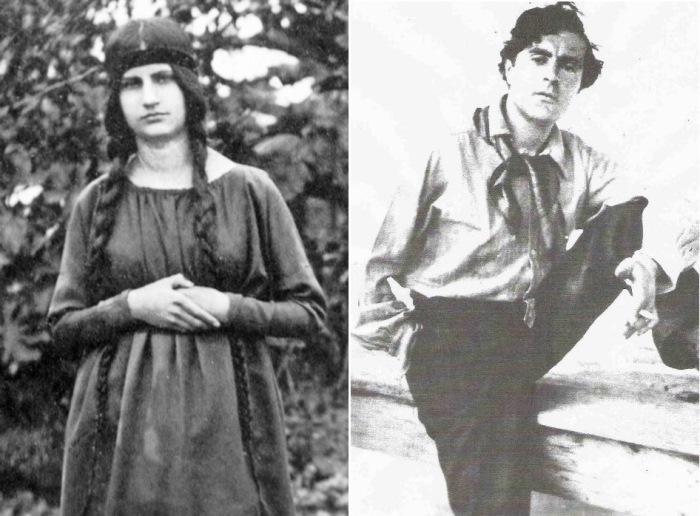 Амедео Модильяни и Жанна Эбютерн.