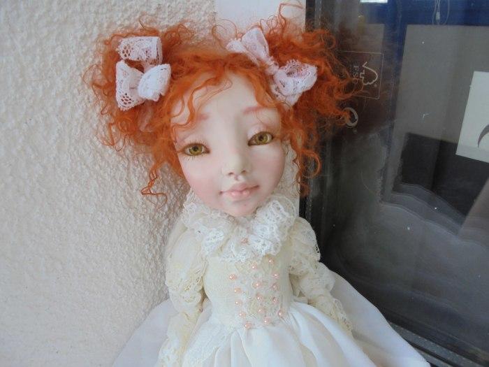 Кукла Ирины Медянцевой.