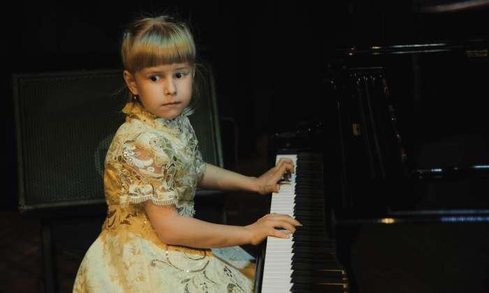 7-летняя белорусская пианистка София Курлович