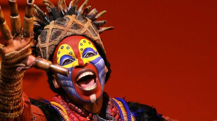 Фрагмент из бродвейского мюзикла «Король Лев»