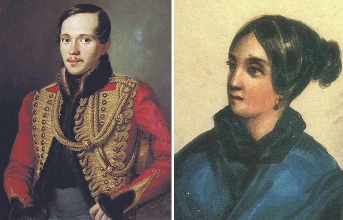Михаил Лермонтов и Варвара Лопухина.