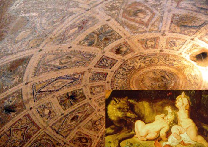 Фото купола так называемой Луперкал Cave
