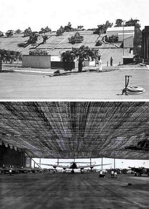 Аэропорт в Калифорнии, замаскированный под сельскую местность.