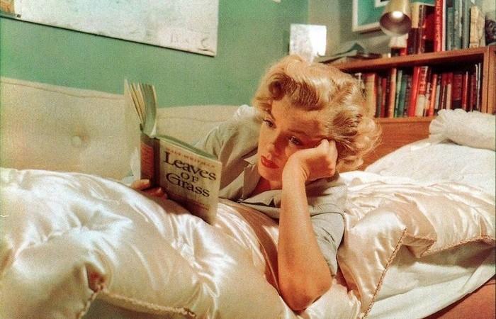 Мэрилин любила читать.