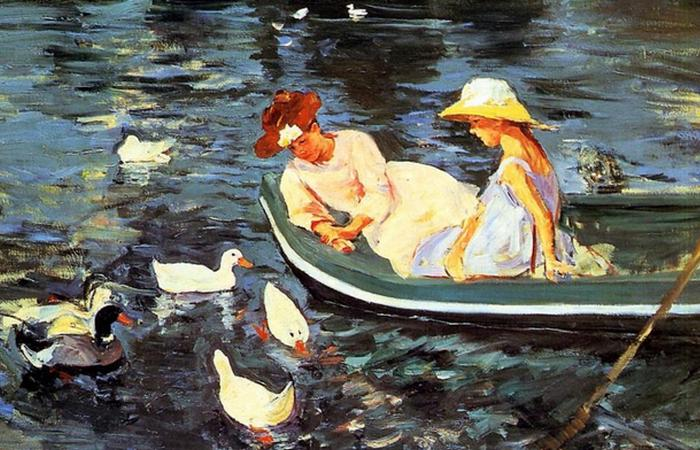 Летняя пора, фрагмент, 1894 г.