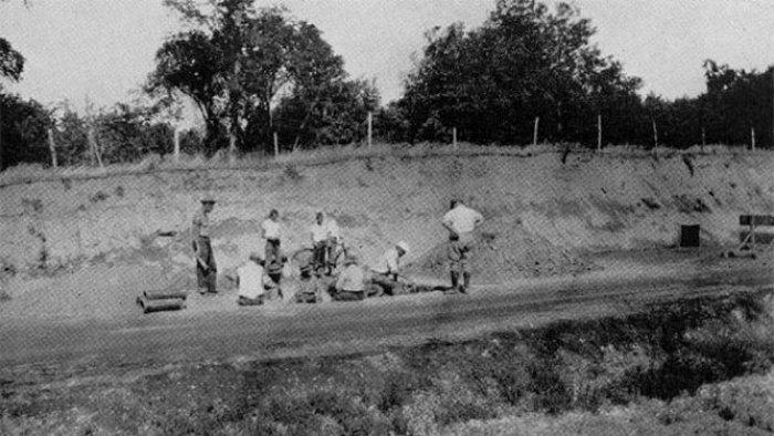 Раскопки 1931 года.