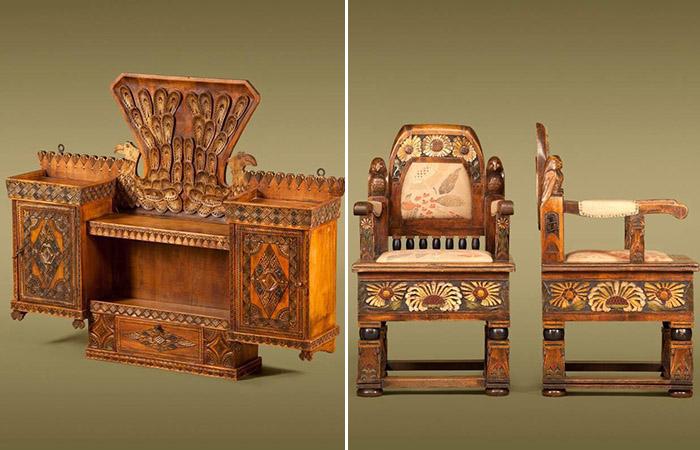 От Абрамцево до Талашкино: Великолепная самобытная мебель эпохи модерн