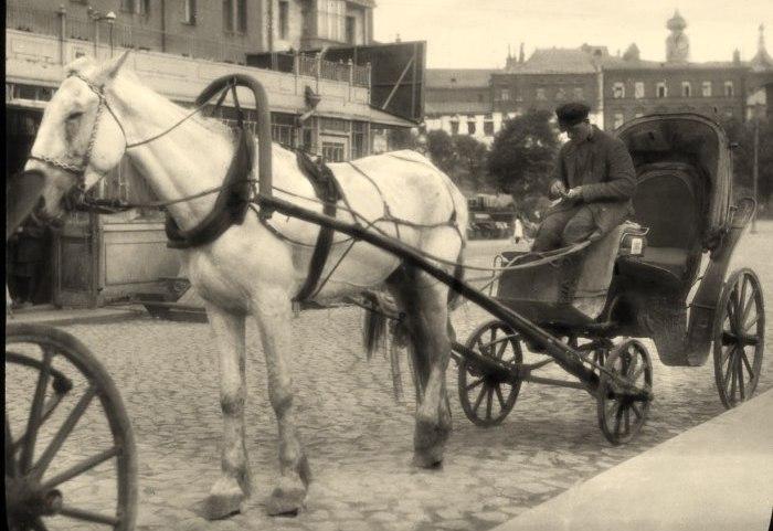 Извозный промысел. СССР, Москва, 1931 год.