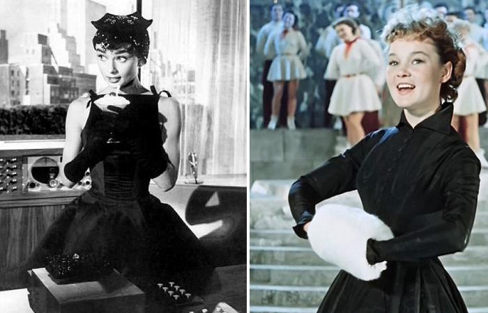 Легендарные черные платья в кино - союз звезды и дизайнера