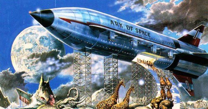 Потоп как банк ДНК.