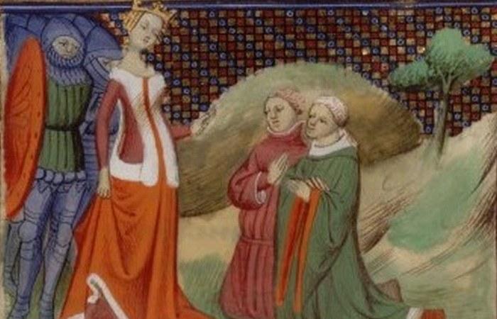 Возглавила баронский мятеж против Эдуарда II и свергла его с престола.