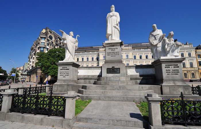 Первая правительница-христианка Киева.