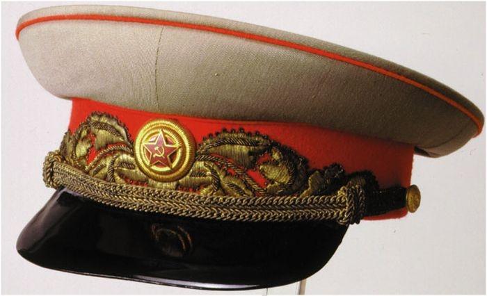 Фуражка маршала Сталина.