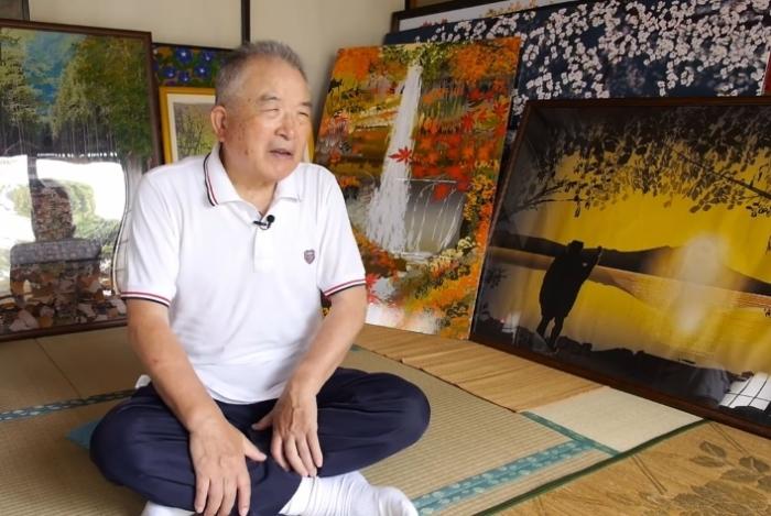 Тацуо Хориучи и его великолепные картины.