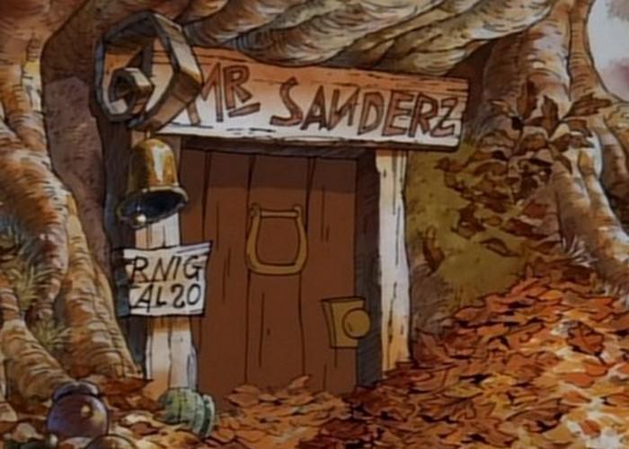 Винни не Сандерс.