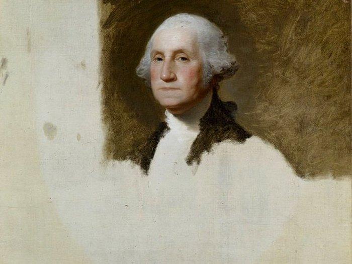 Портрет Джорджа Вашингтона. Гилберт Стюарт.