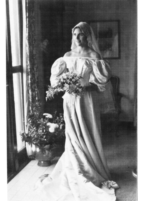 Невеста № 5: Лэрд Макконнелл, которая вышла замуж за Тимоти Хенслера в 1976 году.